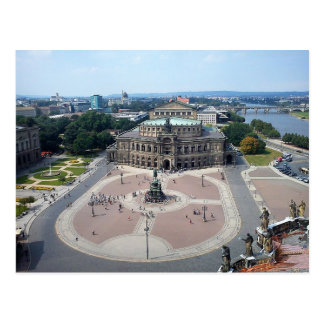 Postcard Semperoper in Dresden Germany Postkarte
