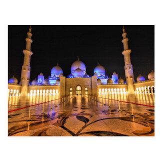 Postcard Sheikh Zayed Grand Mosque, Abu Dhabi Postkarte
