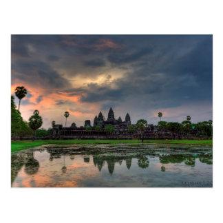 Postcard Temple Angkor Wat, Cambodia Postkarte
