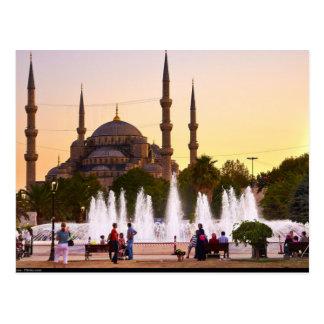 Postcard The Blue mosque, Turkey, Istanbul Postkarte