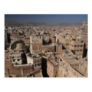 Postcard The City Of Sana' a, Yemen Postkarte