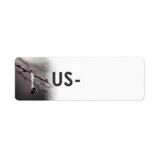 Postcrossing Identifikations-Aufkleber