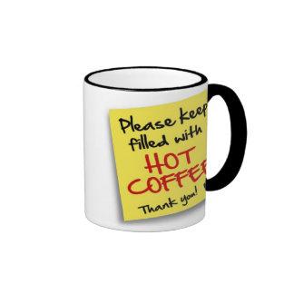 Posten HEISSER KAFFEE - Tasse
