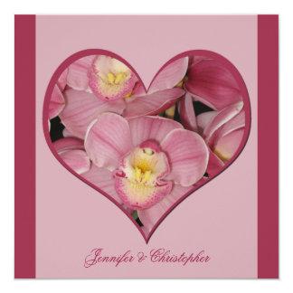 Posten-Hochzeits-Empfangs-Einladung -- Quadratische 13,3 Cm Einladungskarte