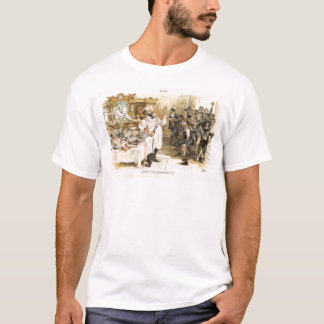 Posten-Wahl Präsident 1888 Benjamin Harrison T-Shirt