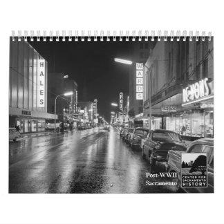 Posten-WWII Sacramento Kalender