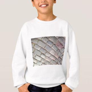 posterized Kopfsteine Sweatshirt