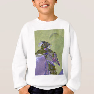 Posterized Pinguine Sweatshirt