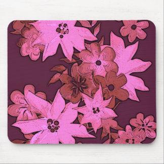 Posterized rosa Malerei Mauspads