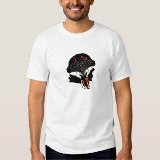 Posterized Zikade-Einfassung-durch KLM T Shirts