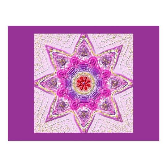 "Postkarte 02 ""Star of Violet"""