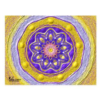 """Postkarte 09 """"Flowerqueen"""""""