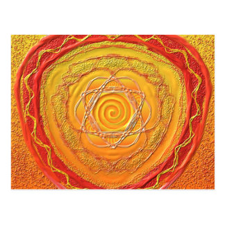 "Postkarte 27 ""Goldene Spirale"""