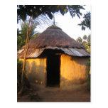 Postkarte Afrikanische Küche