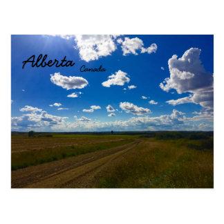 Postkarte Albertas Kanada