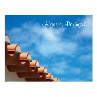 Postkarte - Algarve - Dach-Detail - Portugal