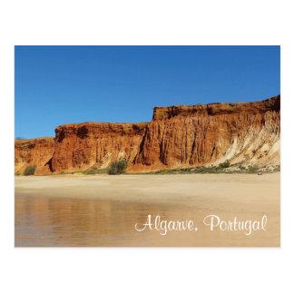 Postkarte - Algarve Portugal - Praia de Falesia 2