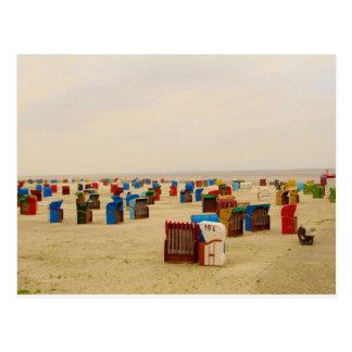 Postkarte am Strand