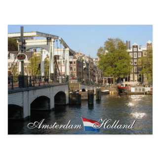 Postkarte Amsterdams Holland