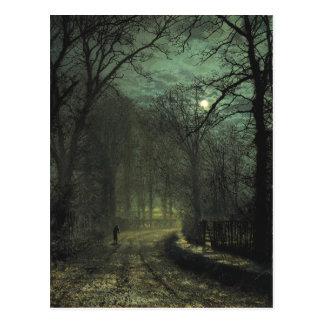 Postkarte Atkinson Grimshaw Yorkshire Weg-CC0622