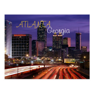 Postkarte Atlantas, Georgia