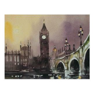Postkarte Big Bens London England