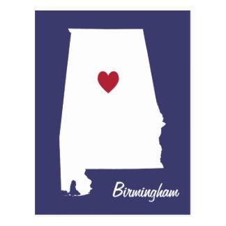 Postkarte Birminghams Alabama