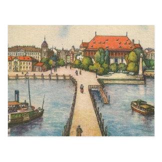 Postkarte - Bodensee, Konstanz