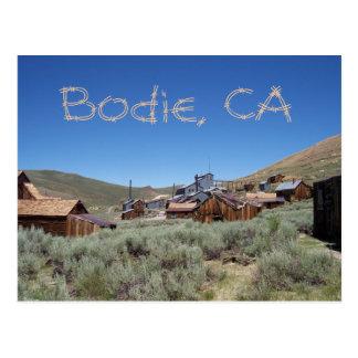 Postkarte Bodie Kalifornien