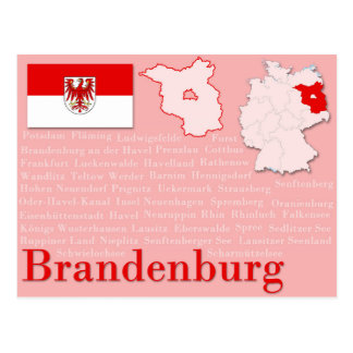 "Postkarte ""Brandenburg """