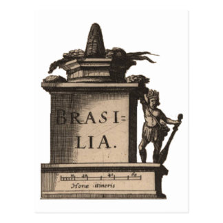 Postkarte: Brasilien, ca. 1624 Postkarte
