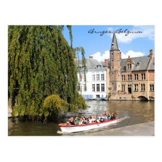 Postkarte Brügges, Belgien