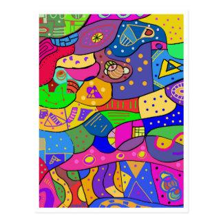 "Postkarte ""Child Playground """