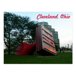 Postkarte Clevelands (freie Sehenswürdigkeit)