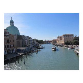 Postkarte--Das Canal Grande Postkarte