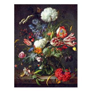 Postkarte De Heem Flower