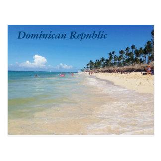 Postkarte der Dominikanischen Republik
