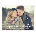 Postkarte der Liebe-Anmerkungs-| Save the Date