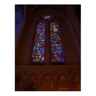 Postkarte der San Francisco Anmut-Kathedralen-#4