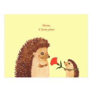 Postkarte der Tag der Mutter