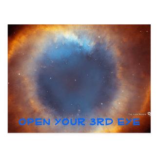 Postkarte des dritten Auges