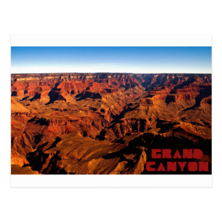 Postkarte des Grand Canyon