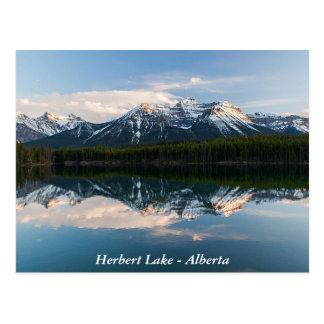 Postkarte des Herbert Sees, Alberta, Kanada