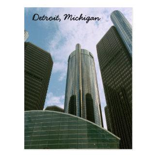 Postkarte Detroits MI