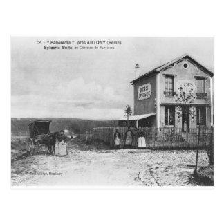 """Postkarte, die ein """"Panorama"""" nahe Antony Postkarte"""