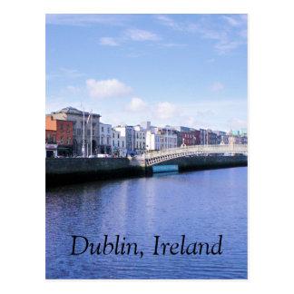Postkarte Dublins, Irland