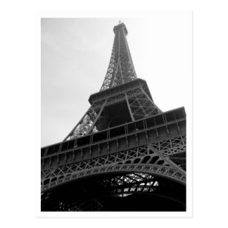 Postkarte Eiffelturm-Paris Frankreich b/w