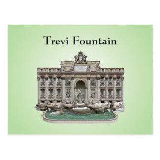 Postkarte: Fontana di Trevi: Trevi-Brunnen Postkarte