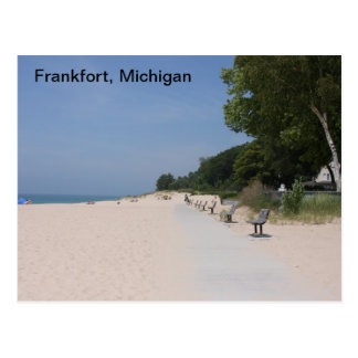 Postkarte Frankfort Michigan Lakeshore
