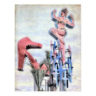 Postkarte Fremont-Straßen-Las Vegass Nevada